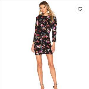 Parker Floral Adrienne Dress Size 2